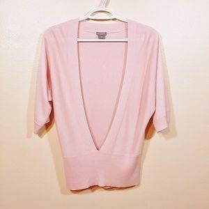 Ann Taylor Pink Cashmere Blend Sweater size SP